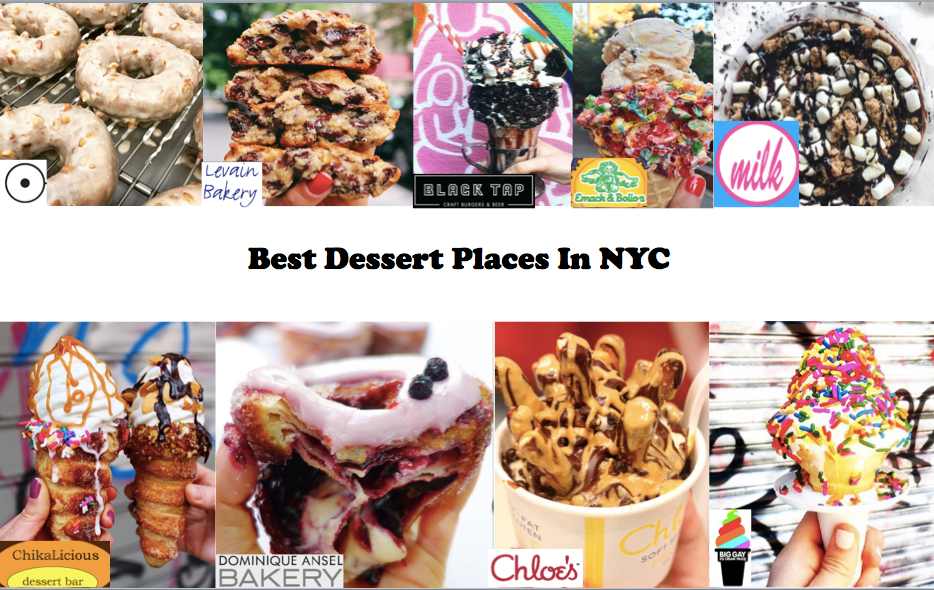 Grab dessert in NYC!