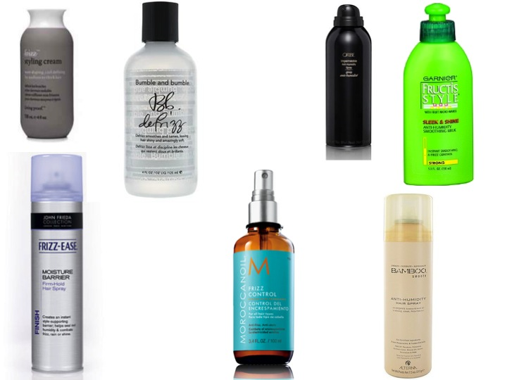 humid hair fixes - anti-humidity products