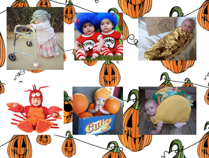 creative baby halloween costumes