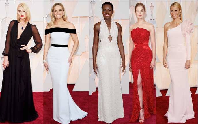 dressed picks from the 2015 oscars
