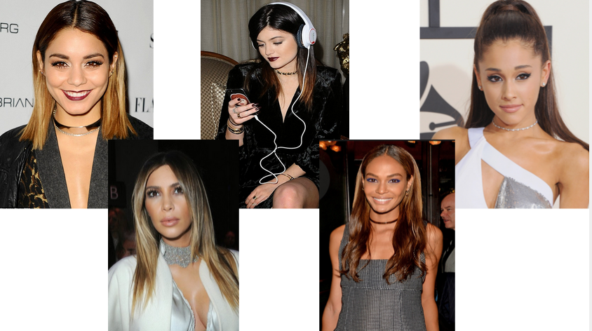 blast from the past trend to try: chokers