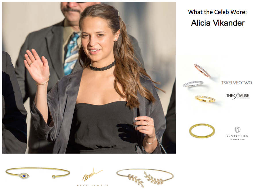 what alicia vikander wore