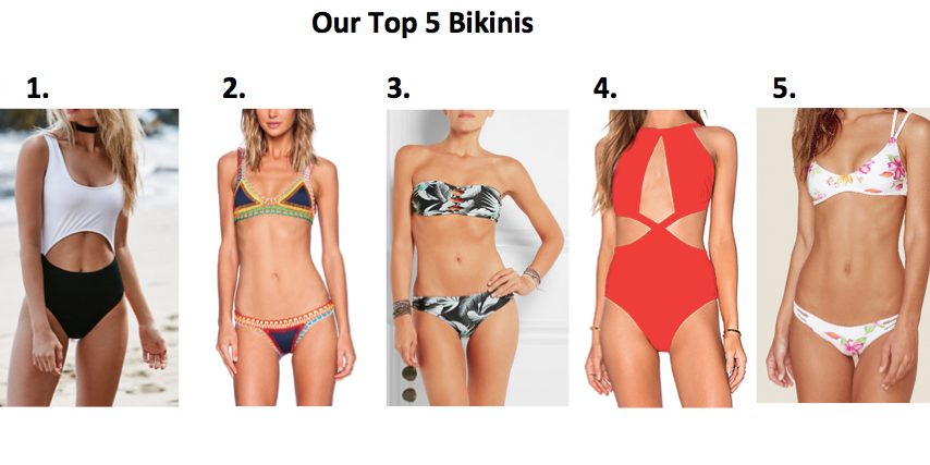 summer bikini picks