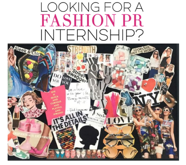 fall fashion pr internship