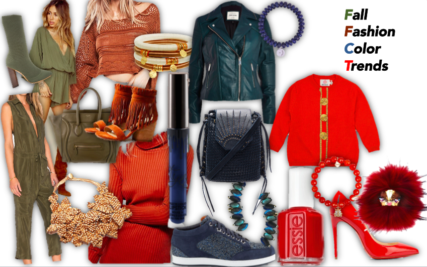 fall fashion color trends
