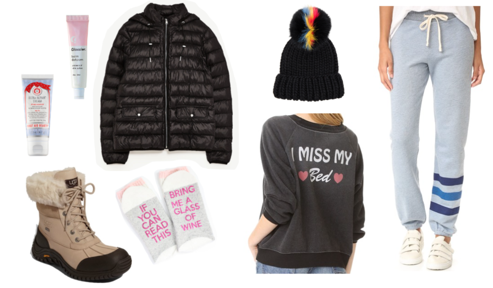 snow day outfit inspo