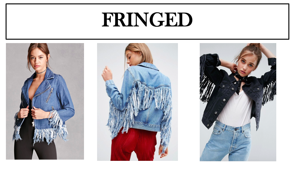 fringed denim jackets