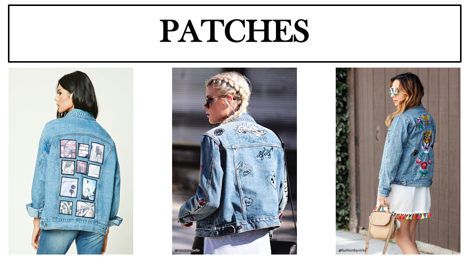 patches denim jackets