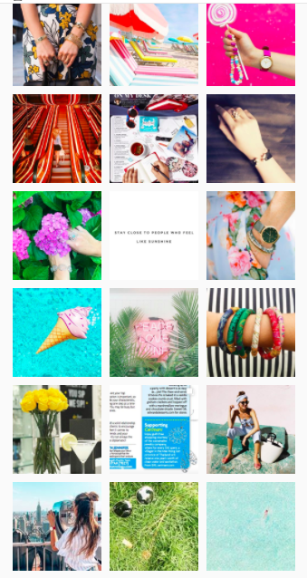 Giving Your Instagram Feed Its Best Flow