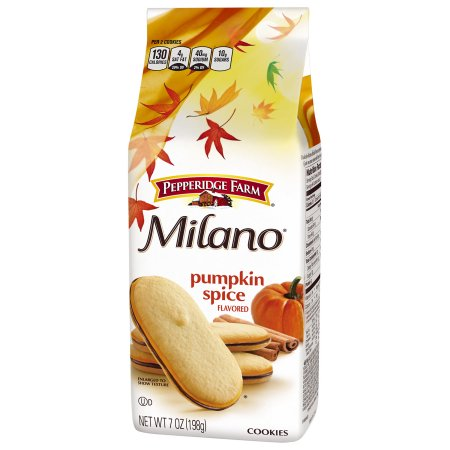 milano chocolate and pumpkin flavor