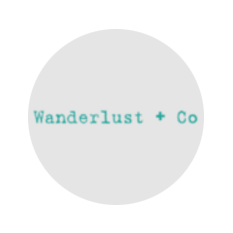 wanderlust + co logo