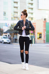 the leather jacket – apparel