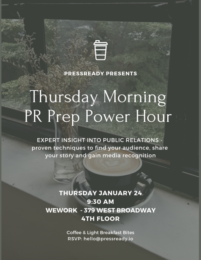 power public relations how to get pr to work for you